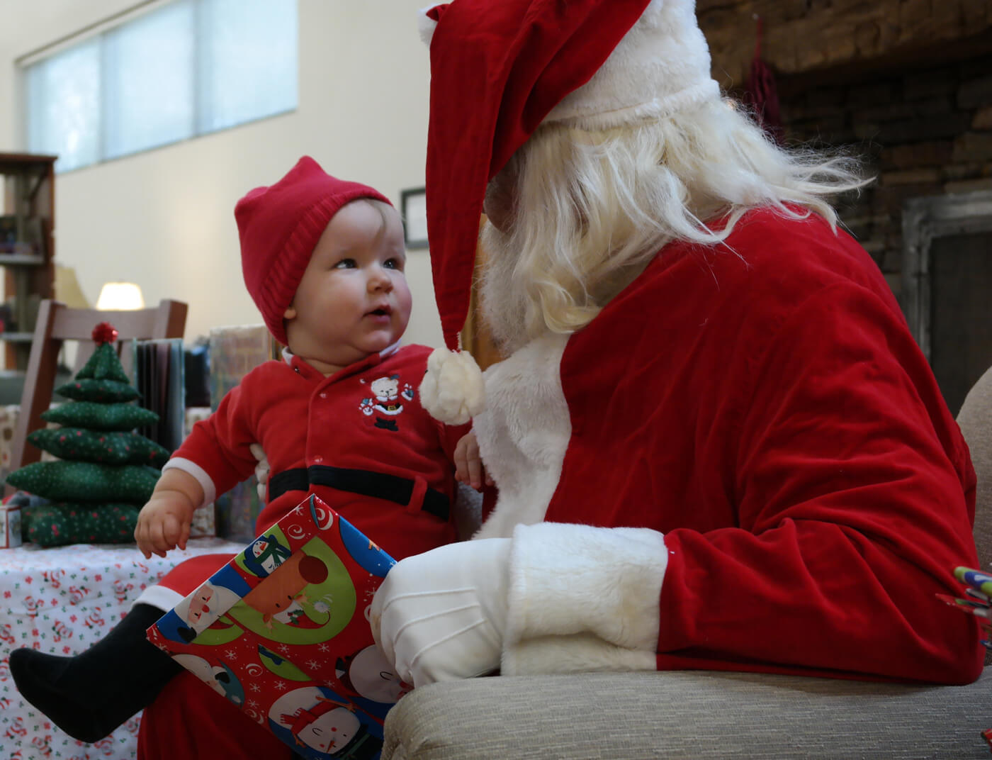 Santa, Songs, Stories & Snacks – Thanks to the FOL